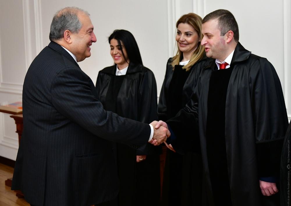 Նորանշանակ դատավորները երդվել են
