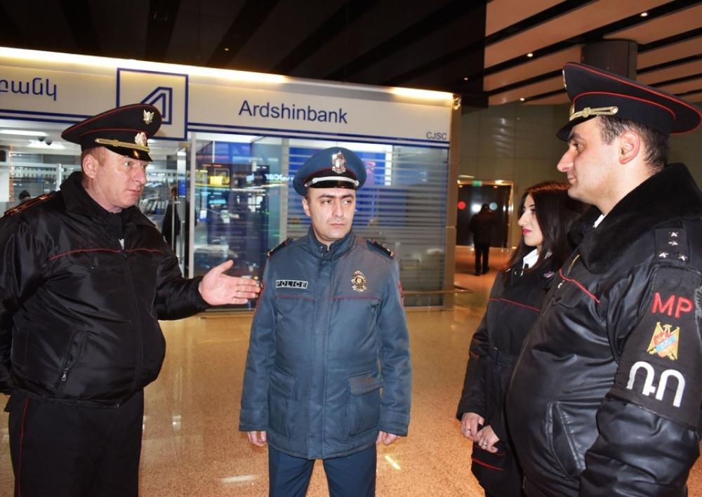 Ռազմական ոստիկանները օդանավակայաններում պարեկային ծառայություն կիրականացնեն