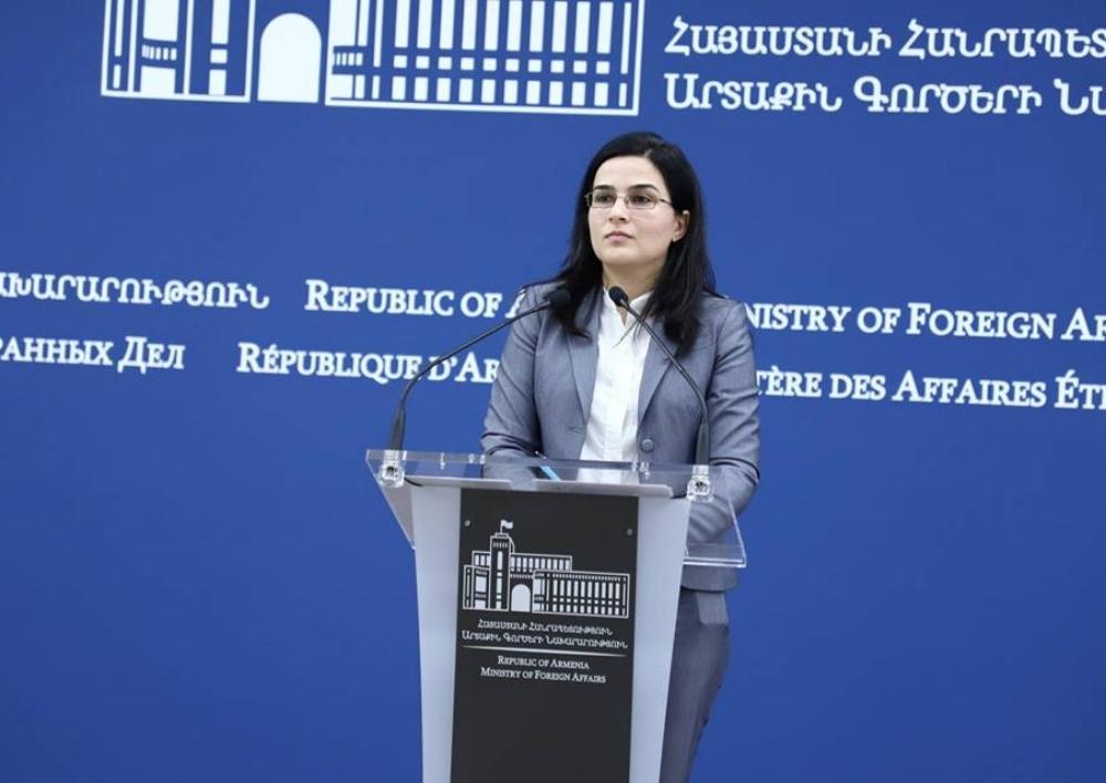 Ռովշան Ասկերովի հարցազրույցի՝ Հայաստանին վերաբերող որոշ հատվածներ պարզապես զարմանք են առաջացնում. ԱԳՆ մամուլի խոսնակ