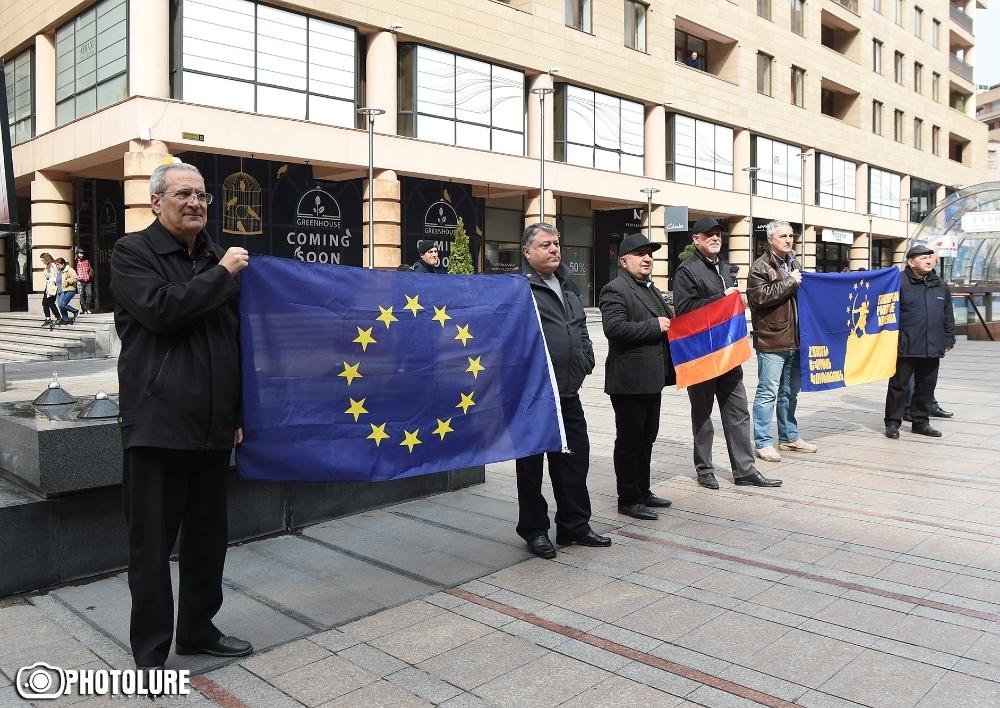 «Եվրոպայի հրապարակի» բացումը Հյուսիսային պողոտայում. Ուղիղ