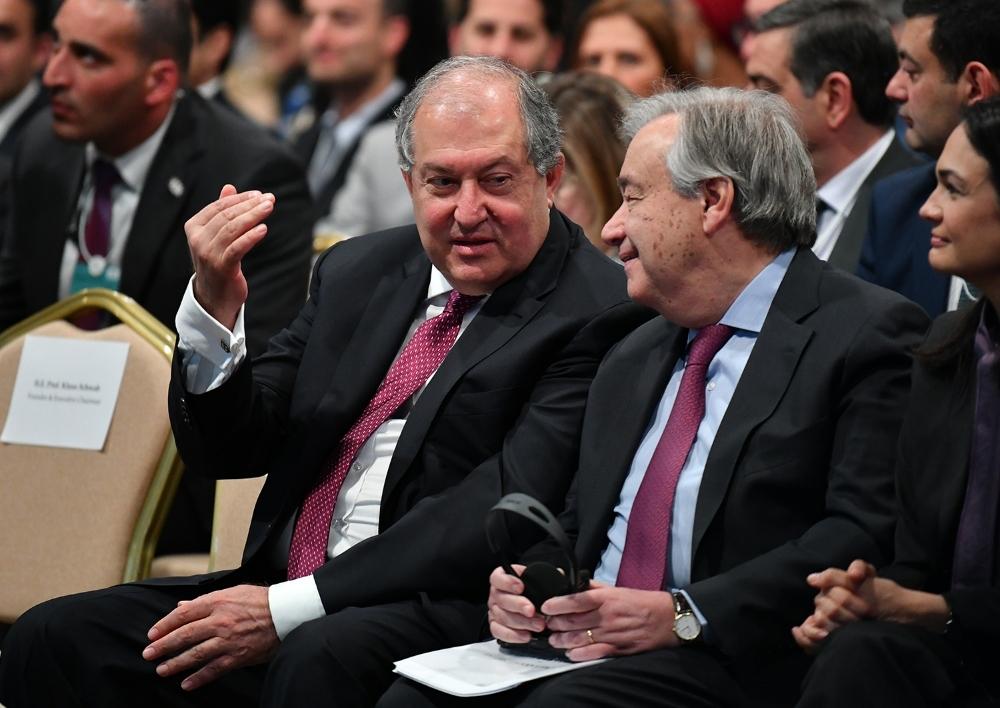 Արմեն Սարգսյանը Հորդանանում մասնակցել է Համաշխարհային տնտեսական համաժողովի տարածաշրջանային ֆորումի բացմանը