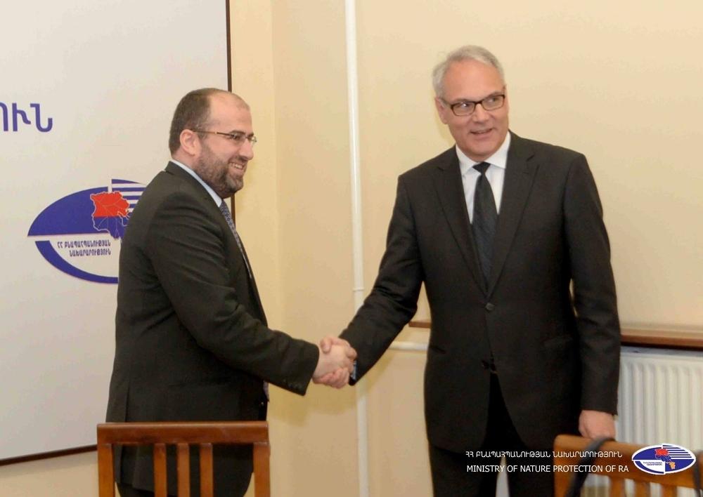 Հայաստանը և Գերմանիան խորացնում են համագործակցությունը բնապահպանության ոլորտում