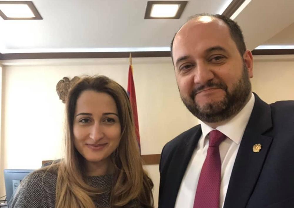 ԿԳՆ մամուլի խոսնակ է նշանակվել Անժելա Կժդրյանը