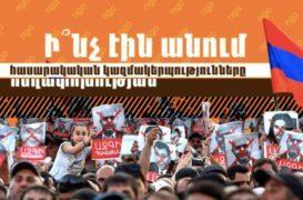 Ի՞նչ էին անում ՀԿ-ները հեղափոխության ժամանակ. Տեսանյութ