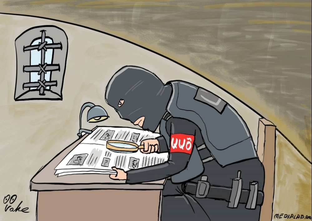 Լրագրողները ԱԱԾ-ի եւ տեղեկատվական աղբյուրների արանքում. Ըստ իրավապաշտպանների` սահմանափակումներն անթույլատրելի են