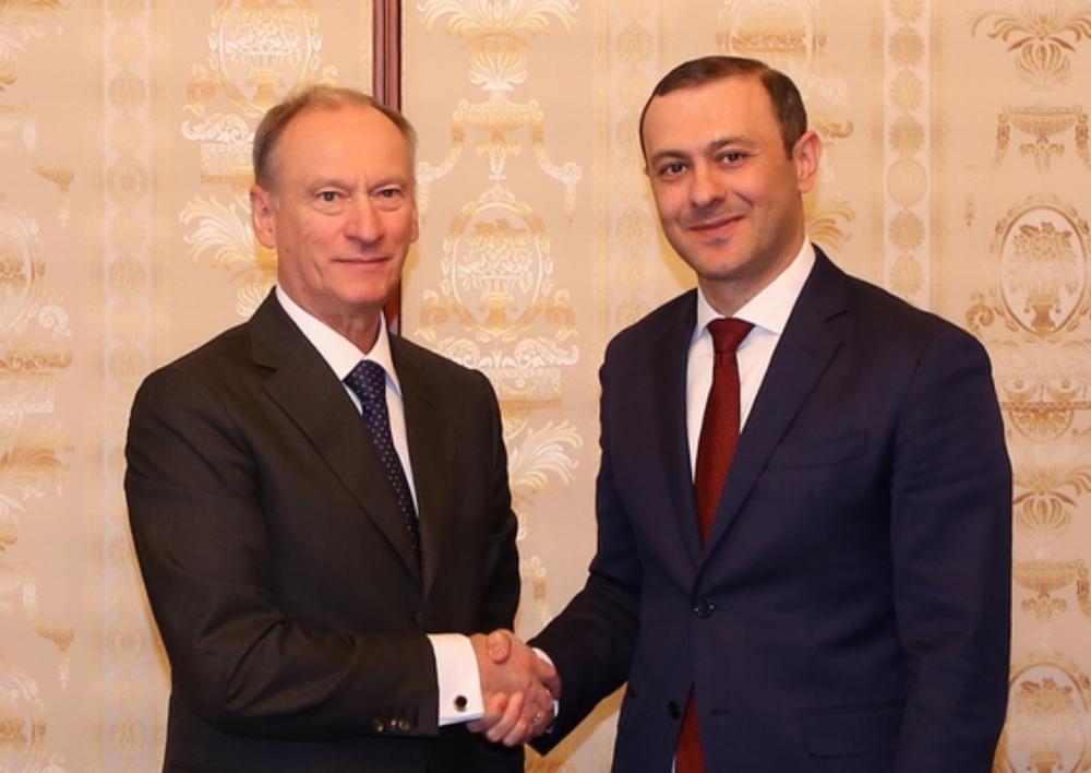 ԱԽ քարտուղարը շնորհավորական հեռագիր է հղել ՌԴ անվտանգության խորհրդի քարտուղարին