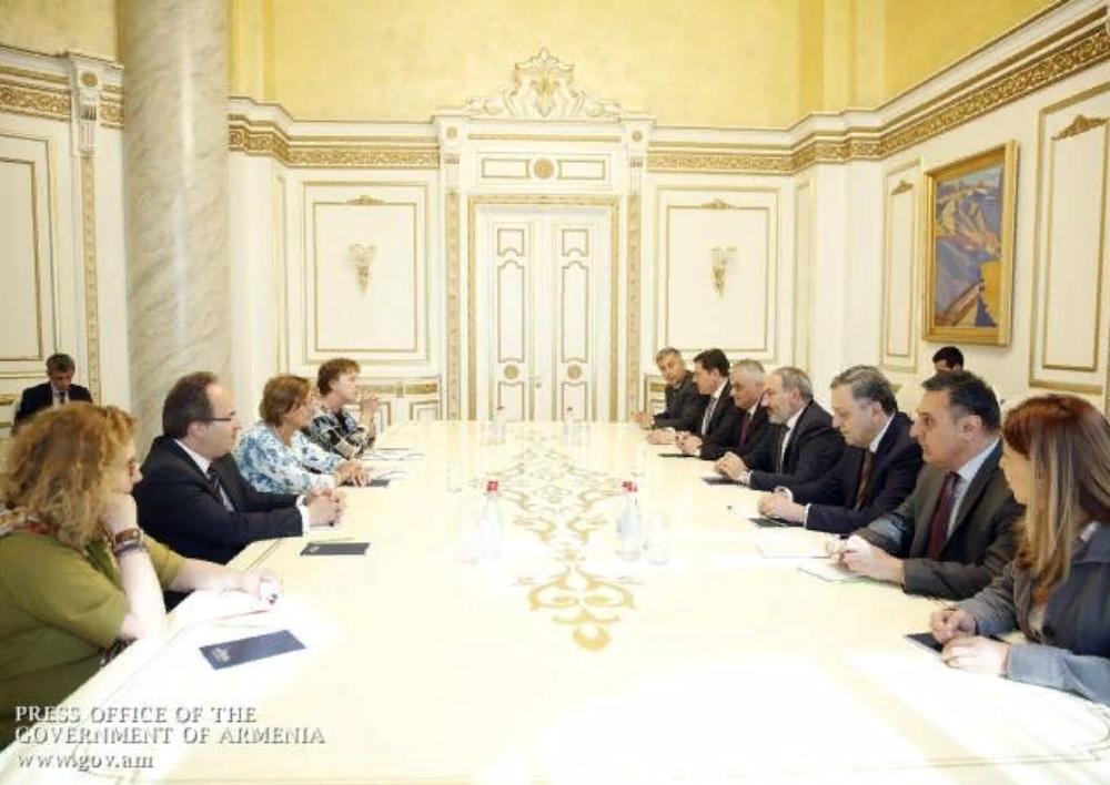 Նիկոլ Փաշինյանն ընդունել է Եվրոպայի խորհրդի գլխավոր քարտուղարի տեղակալին