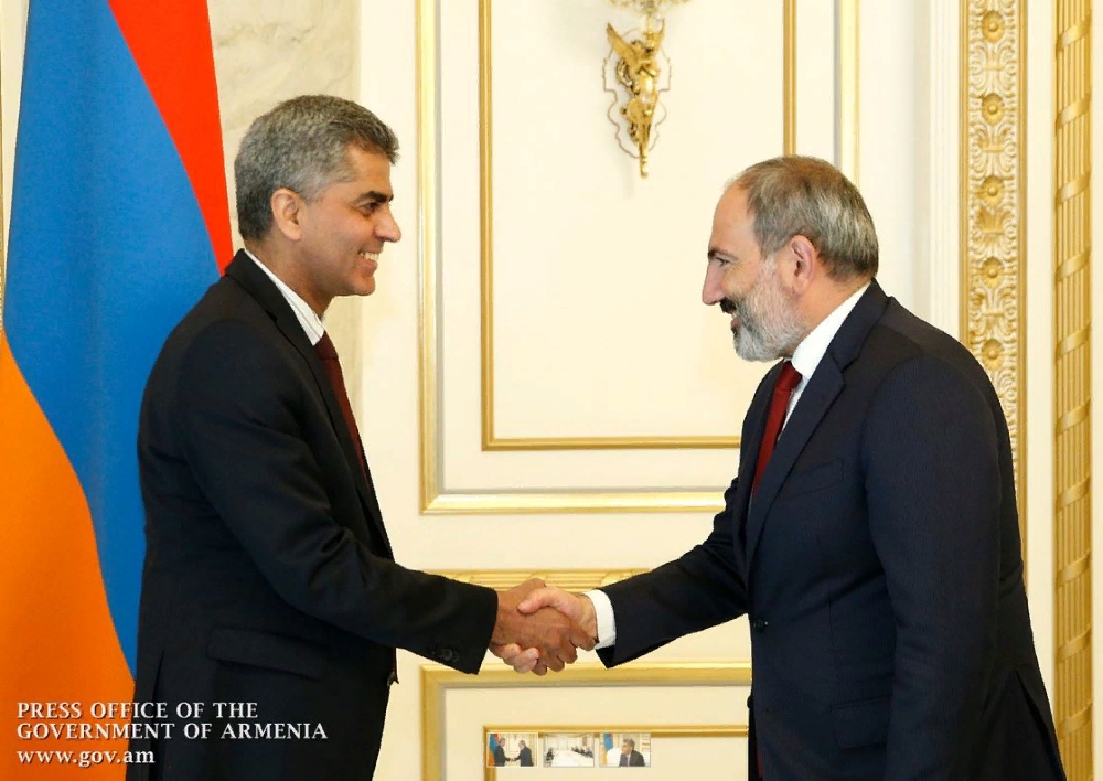 Վարչապետը հրաժեշտի հանդիպում է ունեցել Հայաստանում Հնդկաստանի դեսպանի հետ