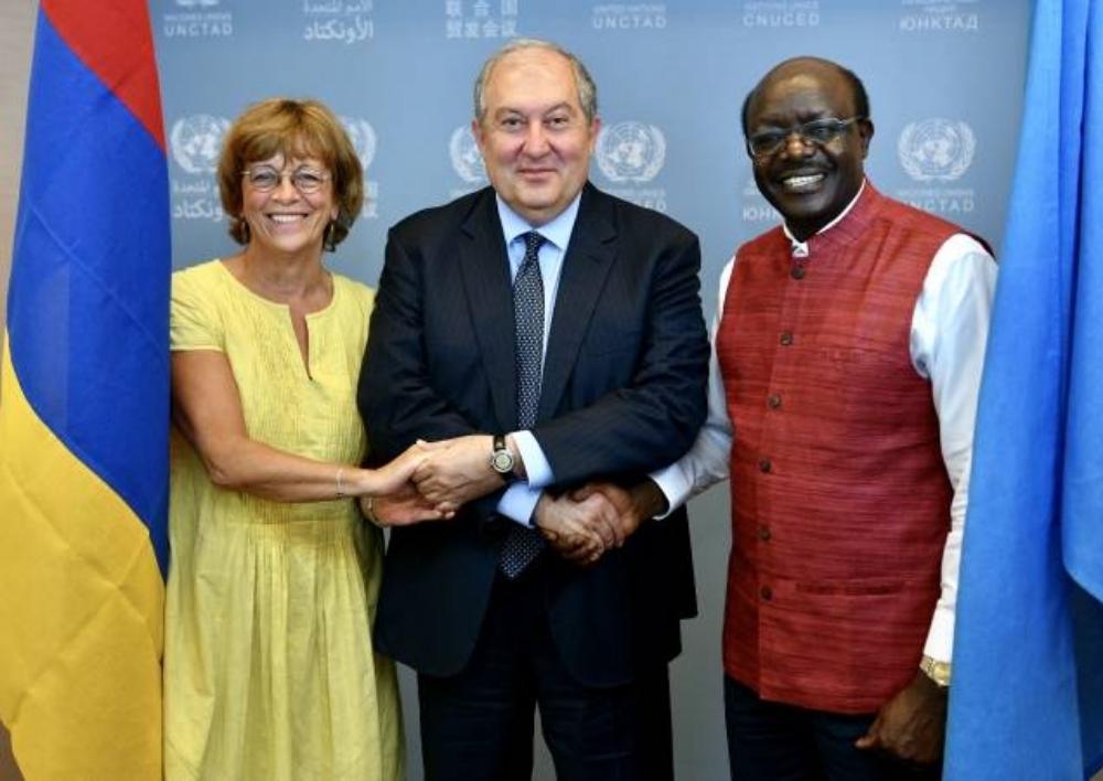 Արմեն Սարգսյանի առաջարկությամբ UNCTAD-ը զեկույց է պատրաստում Հայաստանի ներդրումային քաղաքականության վերաբերյալ