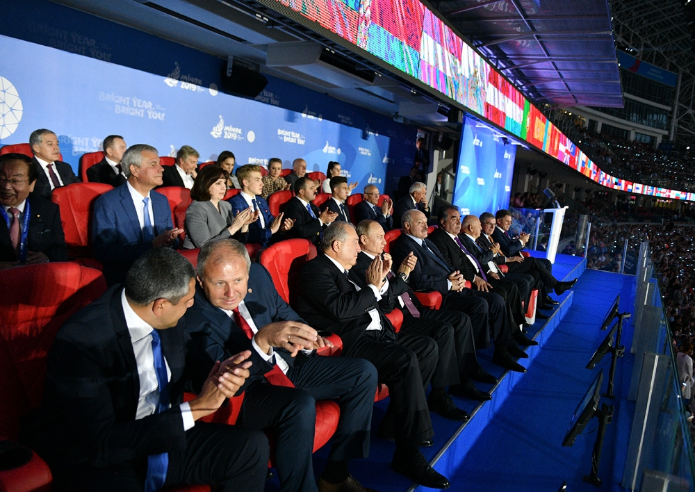 11 մեդալ, որից 5-ը՝ ոսկե. Արմեն Սարգսյանը ներկա է գտնվել Եվրոպական երկրորդ խաղերի փակման արարողությանը