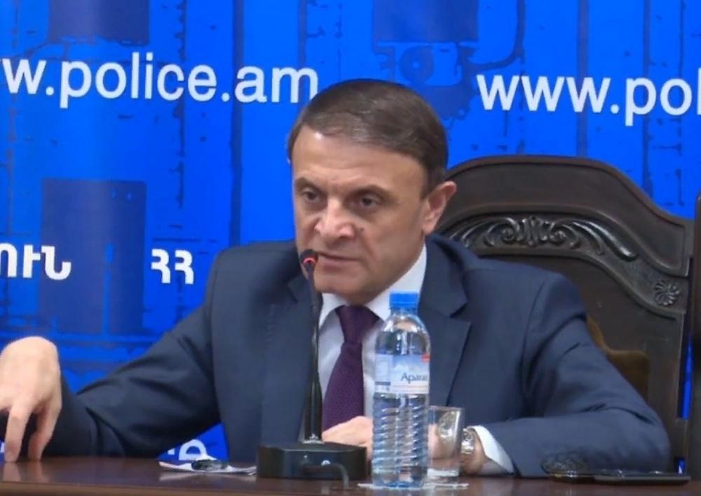 Վալերիյ Օսիպյանը խորհրդակցություն է անցկացրել ոստիկանության Երևան քաղաքի վարչության ղեկավար կազմի հետ. Տեսանյութ