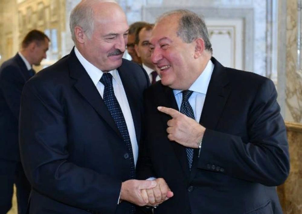 Արմեն Սարգսյանը Մինսկում հանդիպել է Ալեքսանդր Լուկաշենկոյի հետ