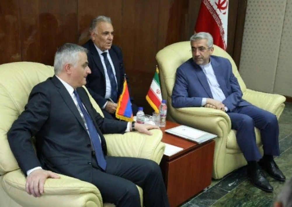 Մհեր Գրիգորյանը հանդիպում է ունեցել Իրանի էներգետիկայի նախարարի հետ