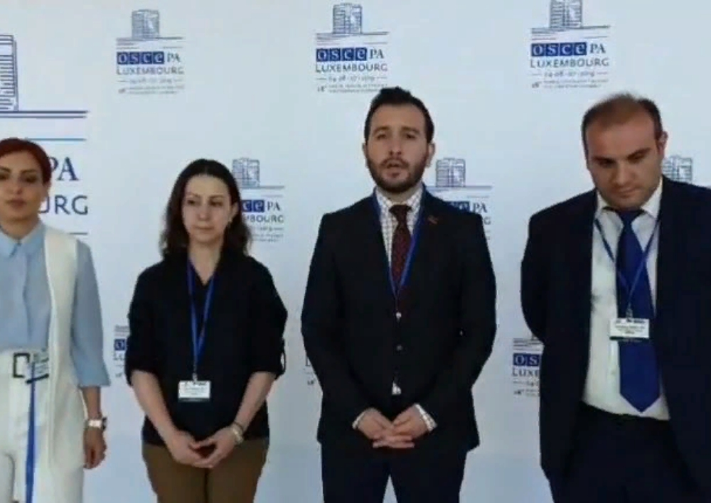 Հայկական պատվիրակությունը վիժեցրել է ադրբեջանցիների հակահայկական դրույթները ԵԱՀԿ ԽՎ֊ում