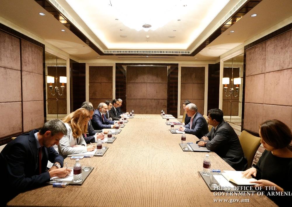 Վարչապետը սինգապուրյան Temasek Holdings հիմնադրամի ներկայացուցիչների հետ քննարկել է տեխնոլոգիական ոլորտում համագործակցության հնարավորությունները