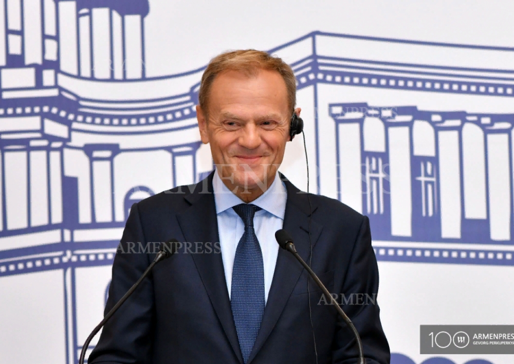 Եվրոպական միությունը շարունակում է օժանդակել Մինսկի խմբի համանախագահների ջանքերին․ Տուսկ