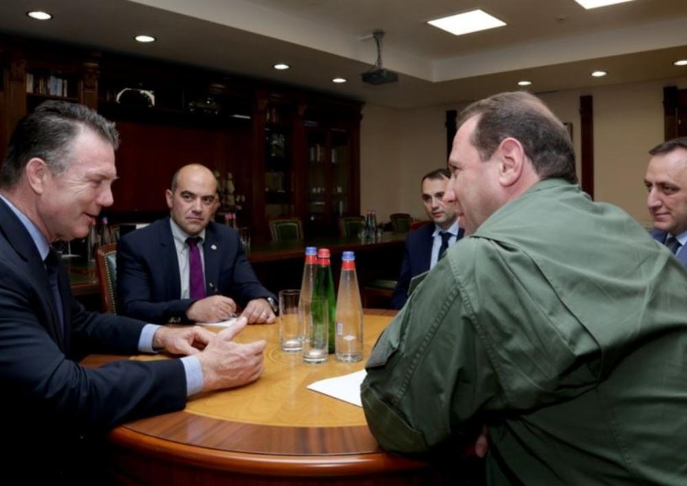 Դավիթ Տոնոյանն ընդունել է ՆԱՏՕ-ի հատուկ նշանակության գործողությունների հրամանատարության ղեկավարին