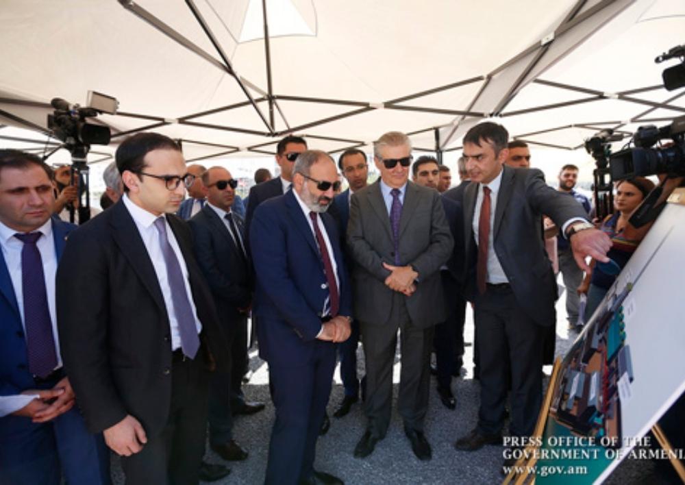 Նիկոլ Փաշինյանը ներկա է գտնվել Երևանում նոր ՋԷԿ-ի շինարարության մեկնարկին