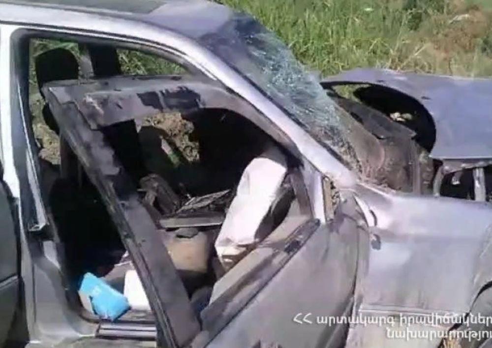 Երևան-Երասխ ավտոճանապարհին ՃՏՊ-ի հետևանքով տուժել է 4 մարդ