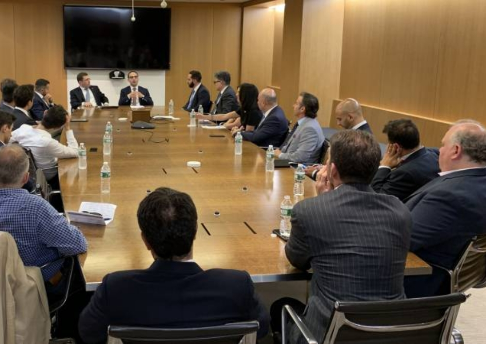 Փոխվարչապետ Տիգրան Ավինյանը հանդիպել է «Հայերը բանկային և ֆինանսական ոլորտներում» ցանցի անդամներին