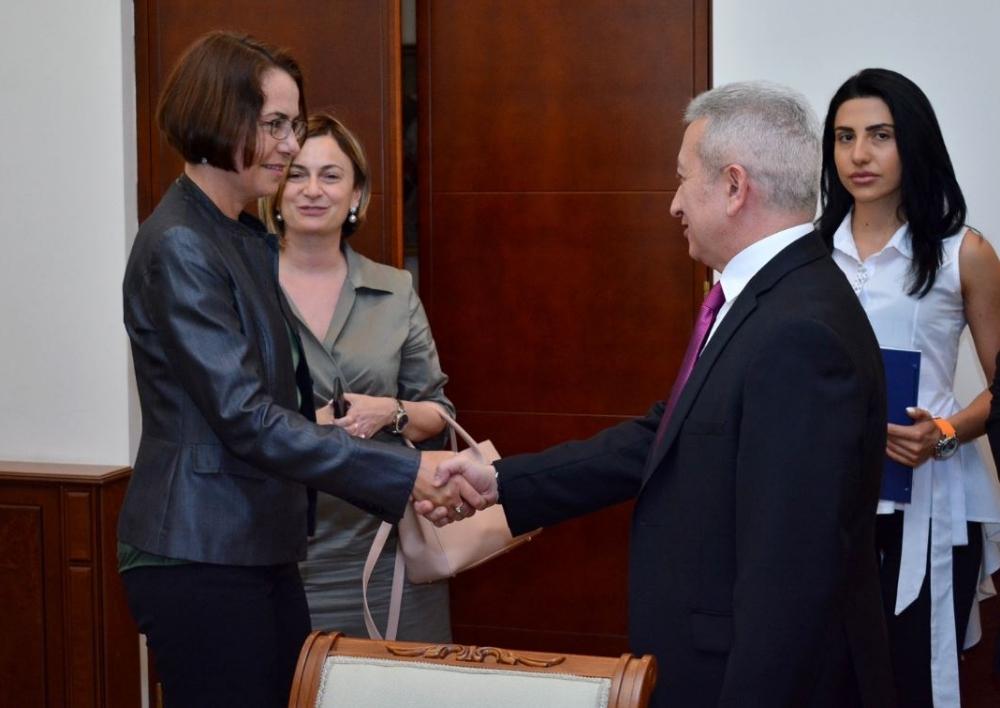 ՀՀ-ի և ՎՎԲ-ի միջև  ստորագրվել է 3 մլն եվրո արժողությամբ 2 դրամաշնորհային համաձայնագիր