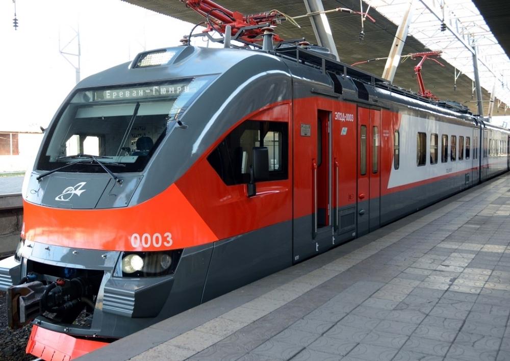 Չեղարկվում են Երևան-Գյումրի արագընթաց էլեկտրագնացքի հուլիսի 25-26-ի որոշ չվերթները. «Հարավկովկասյան երկաթուղի»