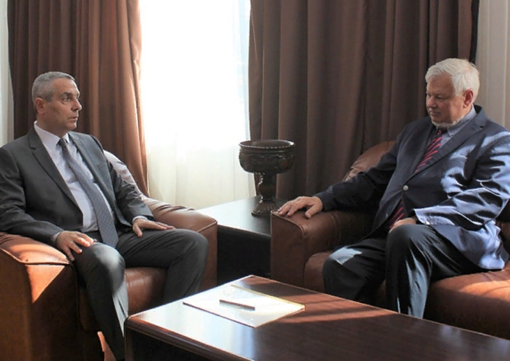 Մասիս Մայիլյանն ընդունել է ԵԱՀԿ գործող նախագահի անձնական ներկայացուցիչ Անջեյ Կասպշիկին