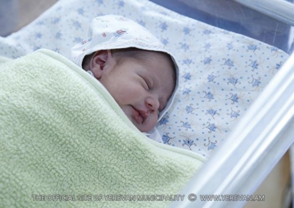 Մեկ շաբաթում Երևան քաղաքում ծնվել է 513 երեխա՝ 269 տղա, 244 աղջիկ