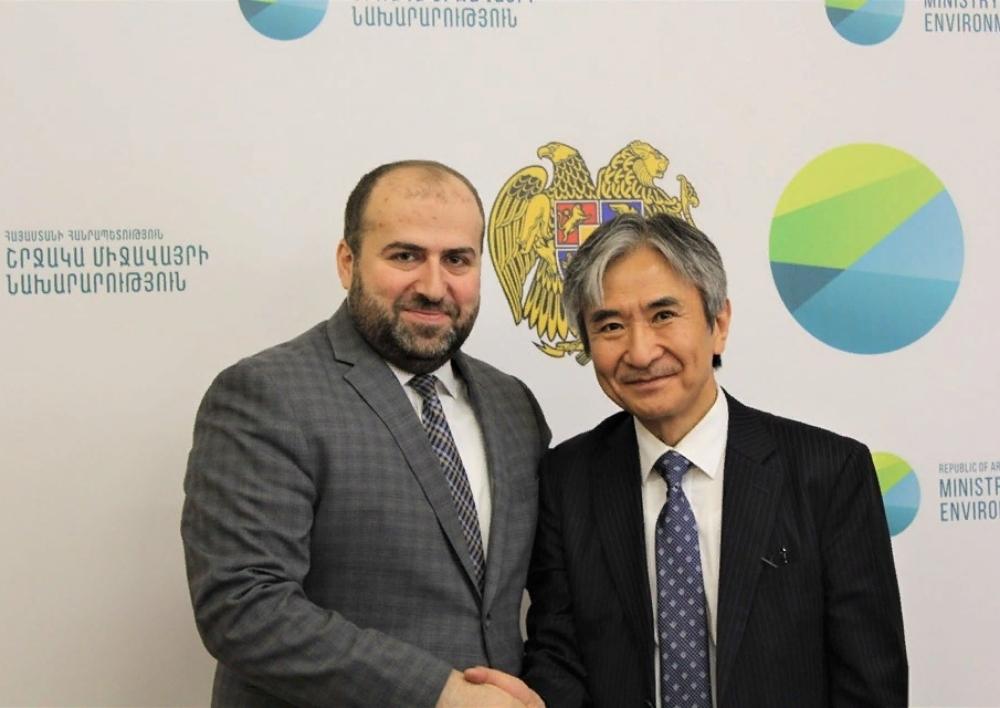 Համատեղ բնապահպանական ծրագրերով կխորացվի համագործակցությունը Հայաստանի և Ճապոնիայի միջև