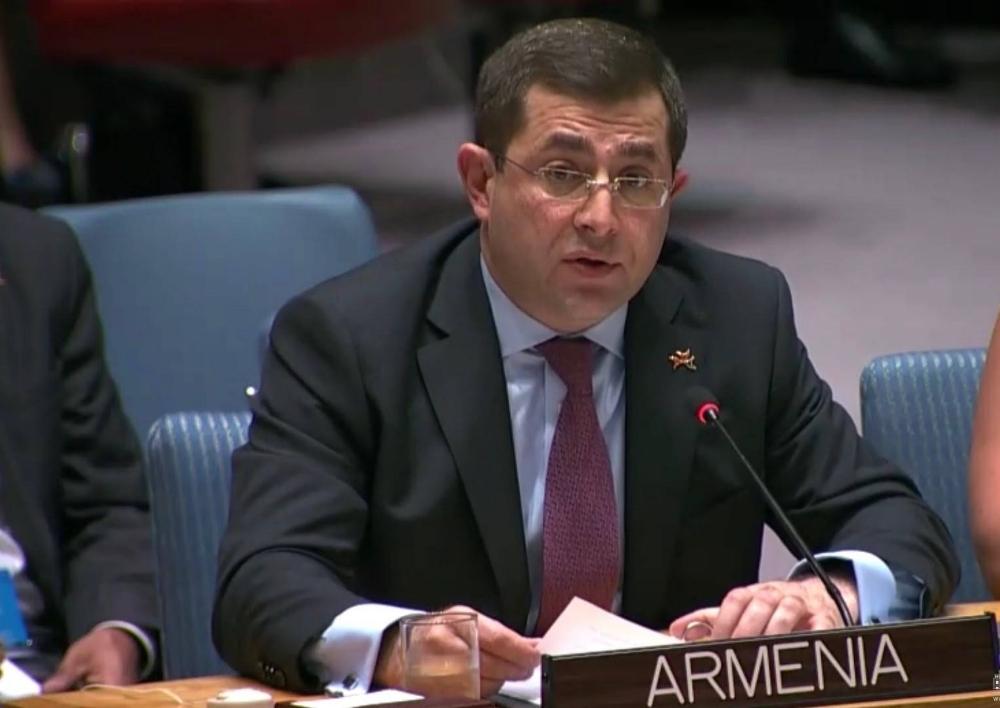 Հայաստանը մասնակցեց «Երեխաները և զինված հակամարտությունները» խորագրով ՄԱԿ-ի Անվտանգության խորհրդի հանդիպմանը