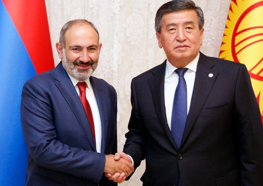 Մեկնարկել է ՀՀ վարչապետի աշխատանքային այցը Ղրղզստան. Նիկոլ Փաշինյանը հանդիպել է Ղրղզստանի նախագահի հետ