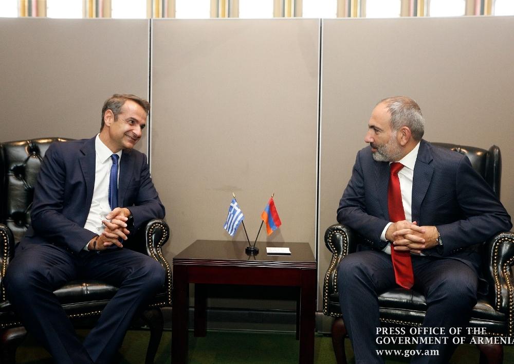 Նյու Յորքում Հայաստանի վարչապետը հանդիպել է Հունաստանի վարչապետին