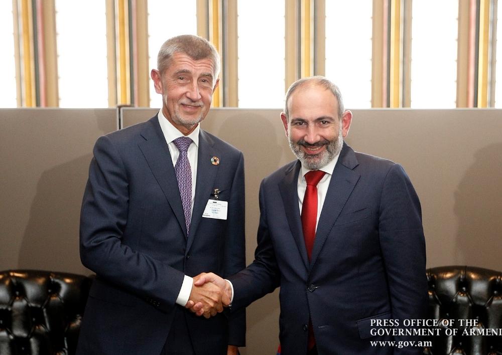 Հայաստանի և Չեխիայի վարչապետերը քննարկել են երկկողմ գործակցությանը վերաբերող հարցեր