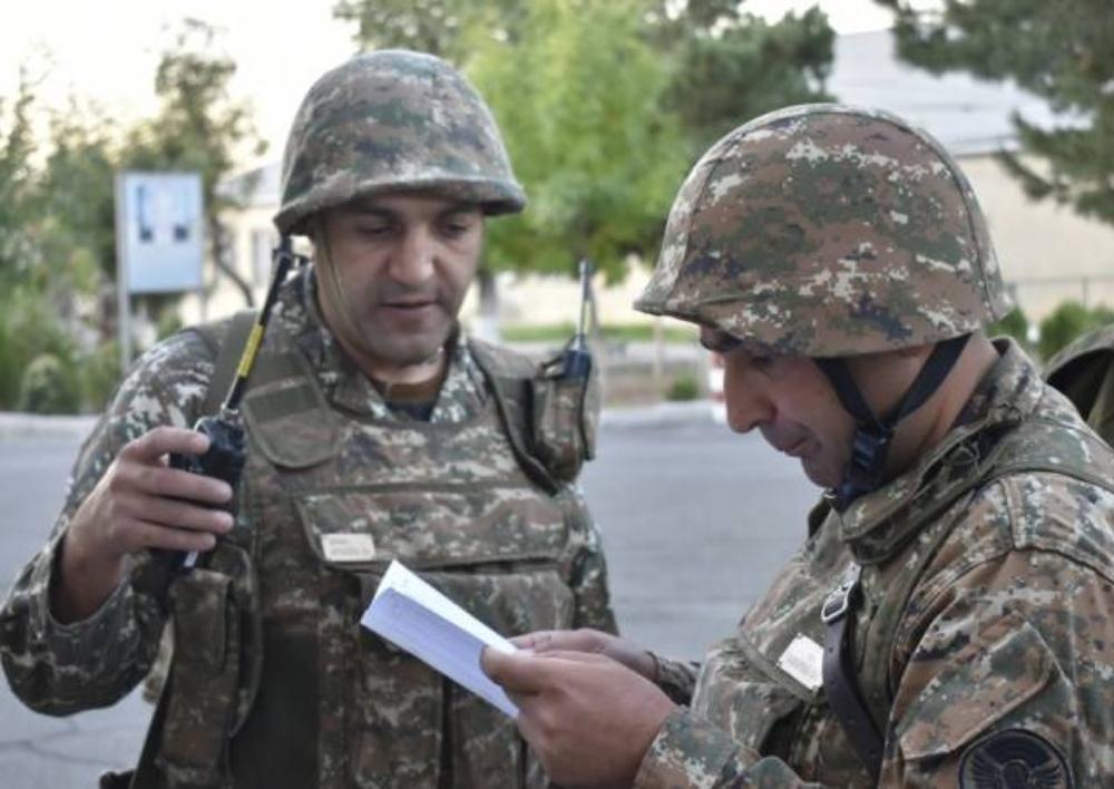 5-րդ զորամիավորման ռազմական տեխնիկան զբաղեցրել է նախորոշված շրջանները