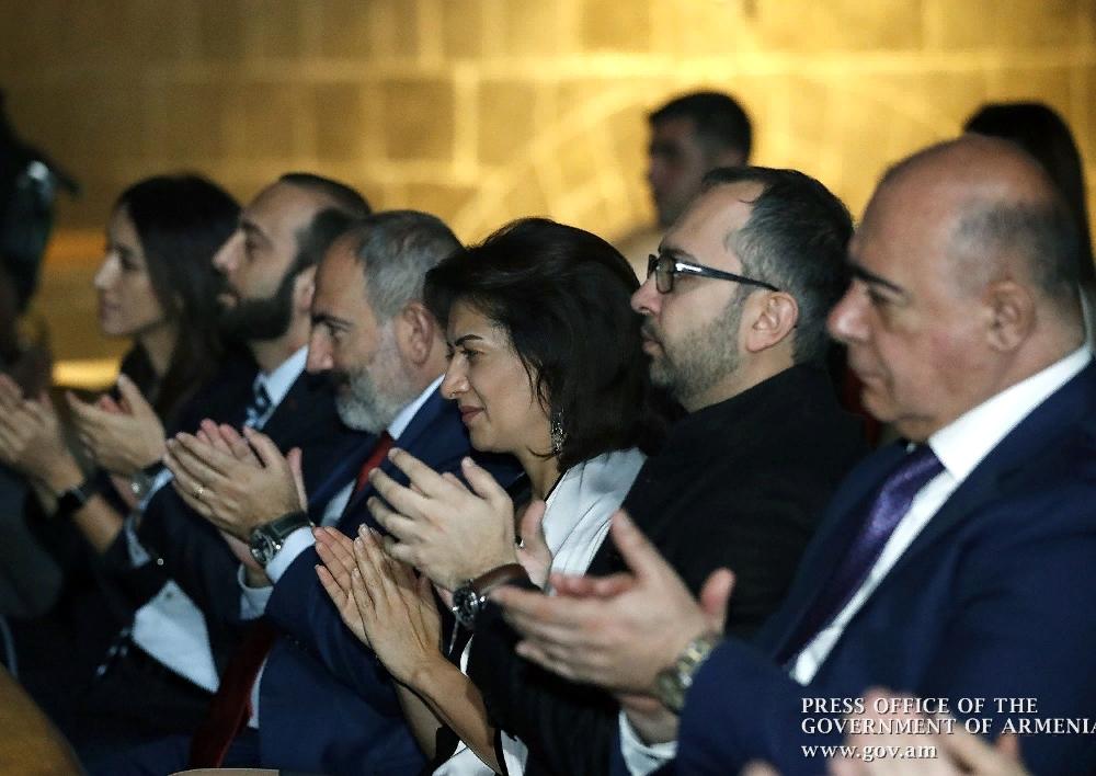Նիկոլ Փաշինյանը և Աննա Հակոբյանը Գյումրիում ներկա են գտնվել Կոմիտասի 150-ամյակին նվիրված համերգին