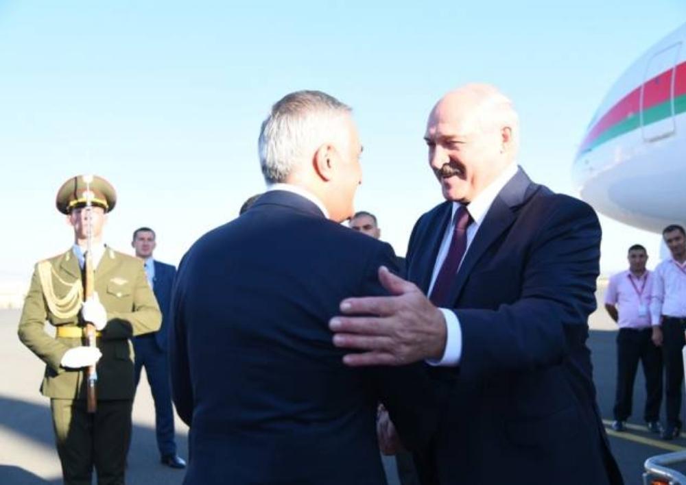 Հայաստան ժամանեց Բելառուսի նախագահ Ալեքսանդր Լուկաշենկոն