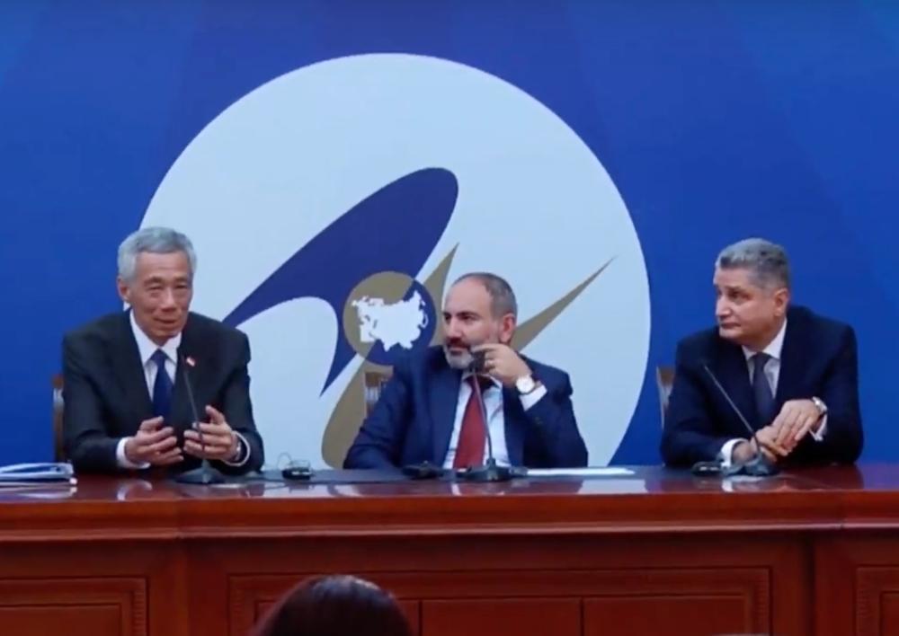 Հայաստանն ու Սինգապուրը կնքեցին տնտեսական համագործակցության մասին համաձայնագիր