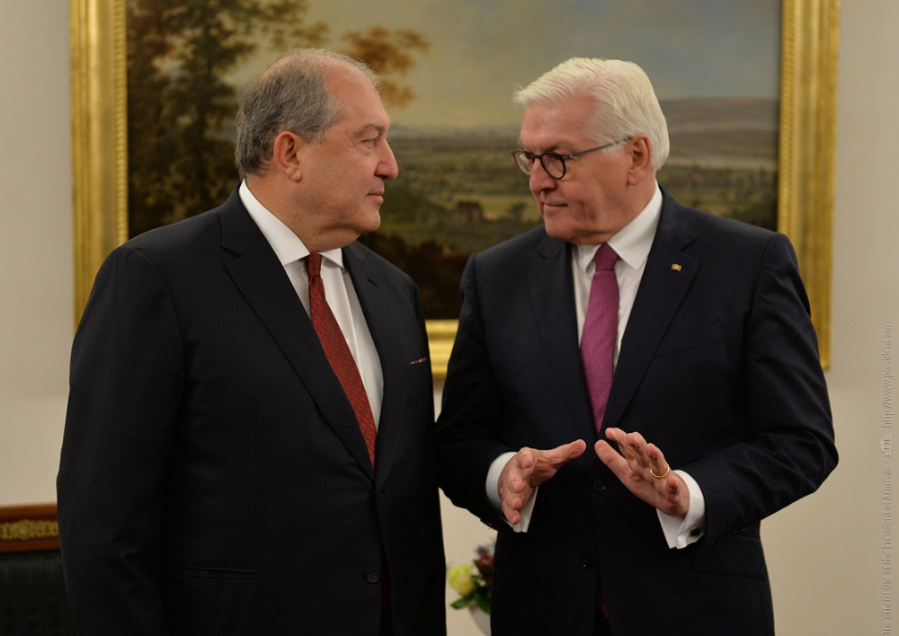Արմեն Սարգսյանը շնորհավորական ուղերձ է հղել Գերմանիայի նախագահ Ֆրանկ-Վալտեր Շտայնմայերին՝ Միասնության օրվա առթիվ