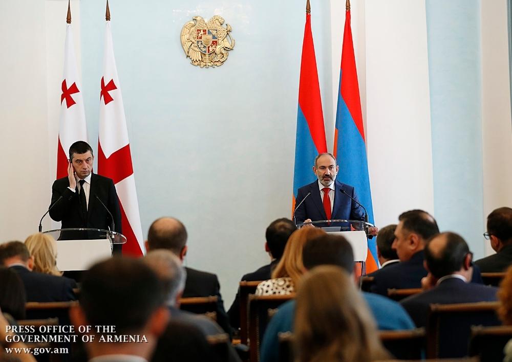 Հայաստանի և Վրաստանի վարչապետները հանդես են եկել ԶԼՄ-ների համար հայտարարություններով