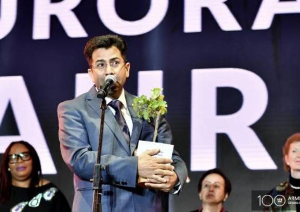 Միրզա Դինային` 2019թ. «Ավրորա» մրցանակի դափնեկիր
