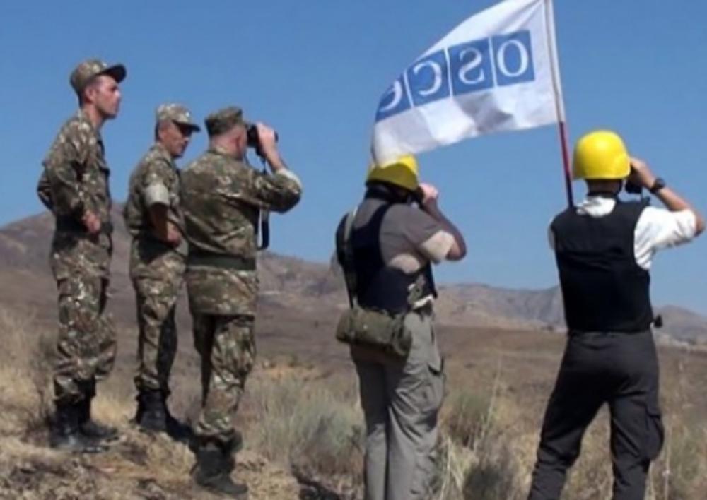 ԵԱՀԿ առաքելությունը հրադադարի ռեժիմի պլանային դիտարկում է անցկացնելու Արցախի և Ադրբեջանի սահմանին