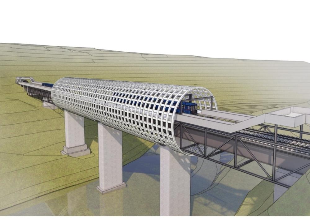 Ի՞նչ տեսք ունի Երեւանի մետրոպոլիտենի Աջափնյակ կայարանի էսքիզային առաջարկը