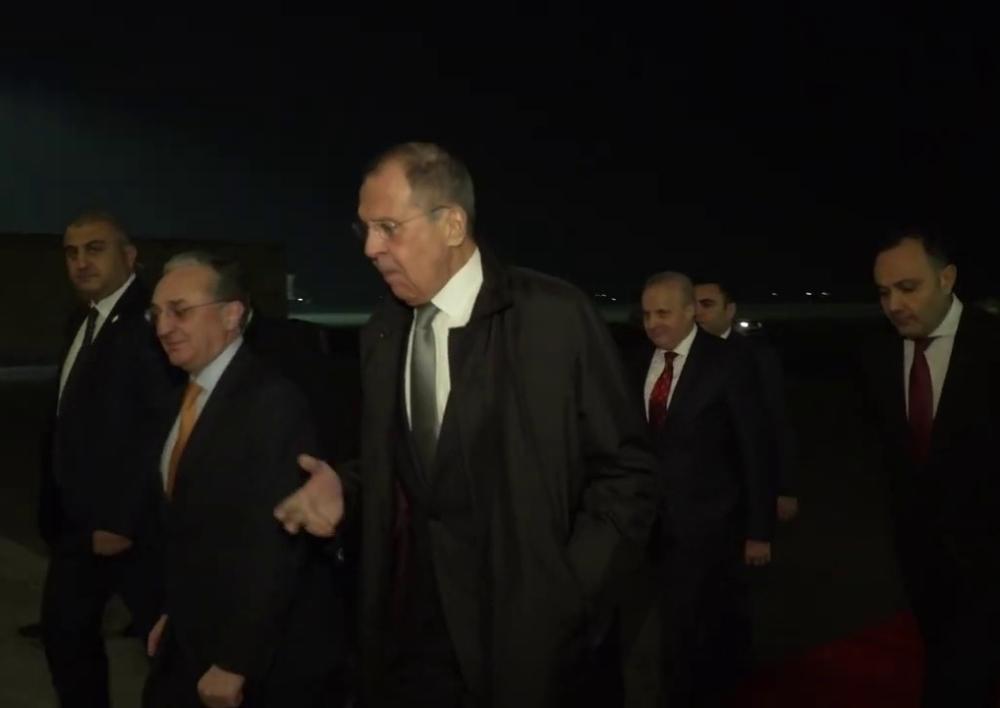 ՌԴ ԱԳ նախարար Սերգեյ Լավրովը պաշտոնական այցով ժամանել է Հայաստան. Տեսանյութ