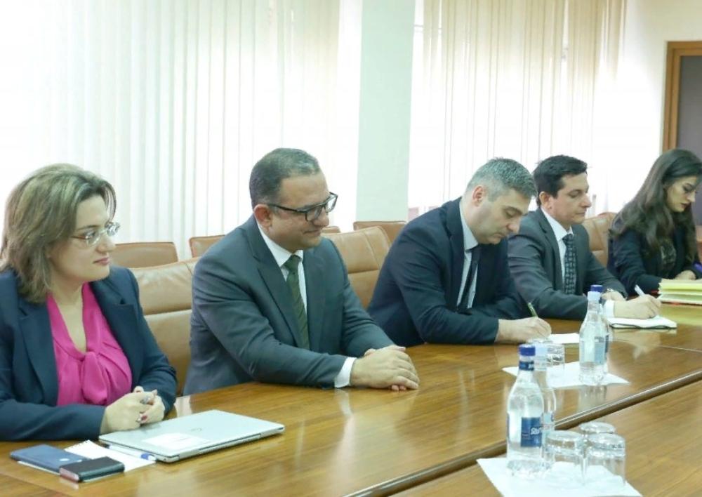 Տիգրան Խաչատրյանը հանդիպել է Միջազգային ֆինանսական կորպորացիայի (ՄՖԿ) տարածաշրջանային ղեկավար Յան Վան Բիլսենին