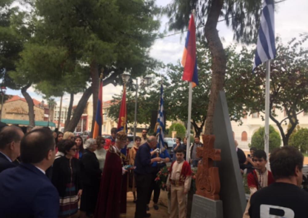 Հունաստանի Կալամատա քաղաքում Հայոց ցեղասպանության զոհերին նվիրված հուշարձան է բացվել