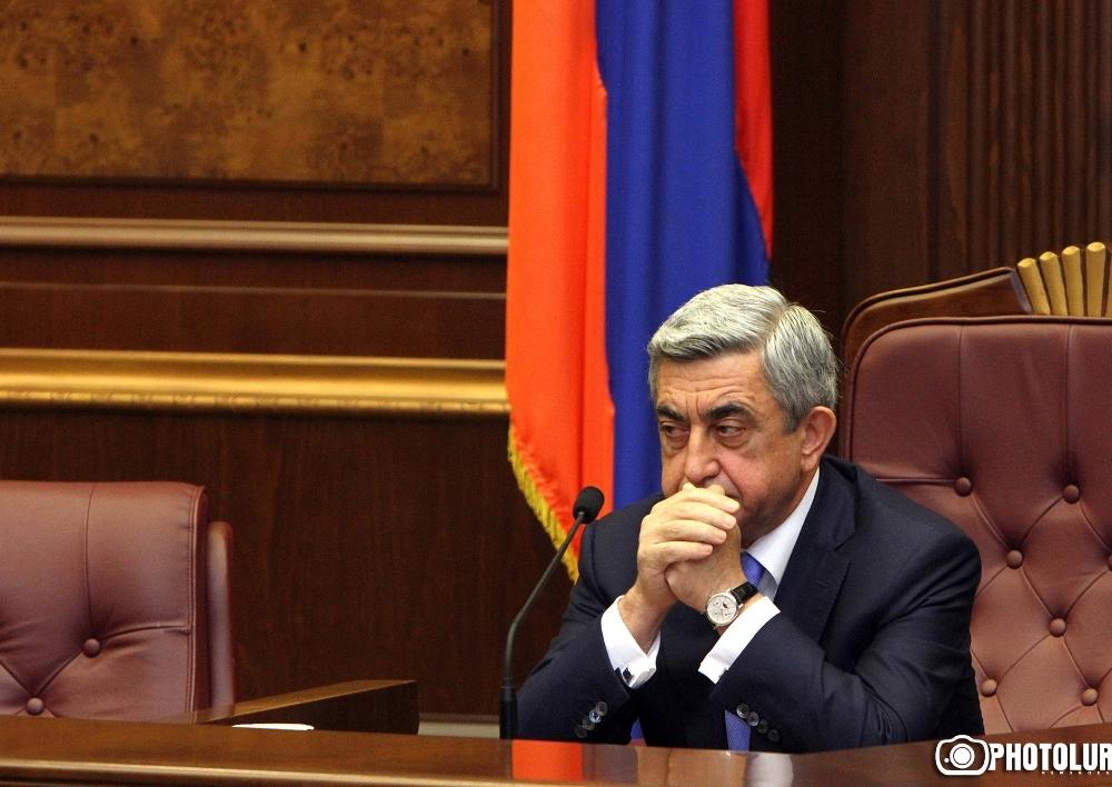 Սերժ Սարգսյանն այժմ հարցաքննվում է. Armlur.am