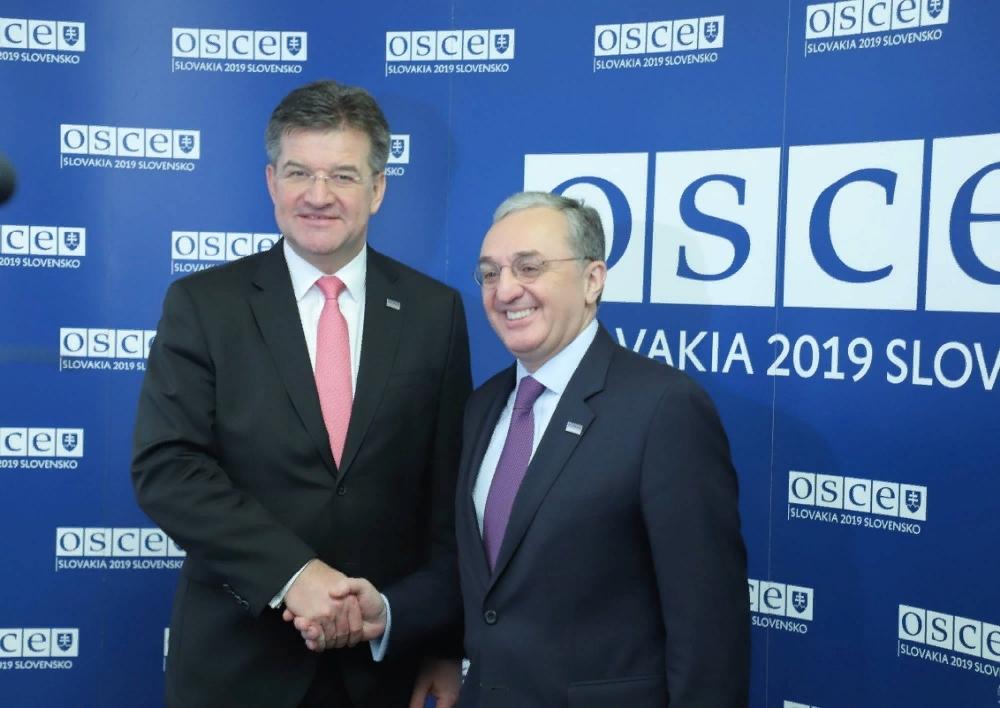 ԱԳ նախարար Զոհրաբ Մնացականյանը հանդիպել է Սլովակիայի ԱԳ նախարար, ԵԱՀԿ գործող նախագահ Միրոսլավ Լայչակի հետ․ Տեսանյութ