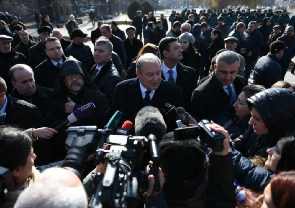 ՀՀ նախագահ Սարգսյանը հայտնել է Գյումրիում տուն գնելու մտադրության մասին