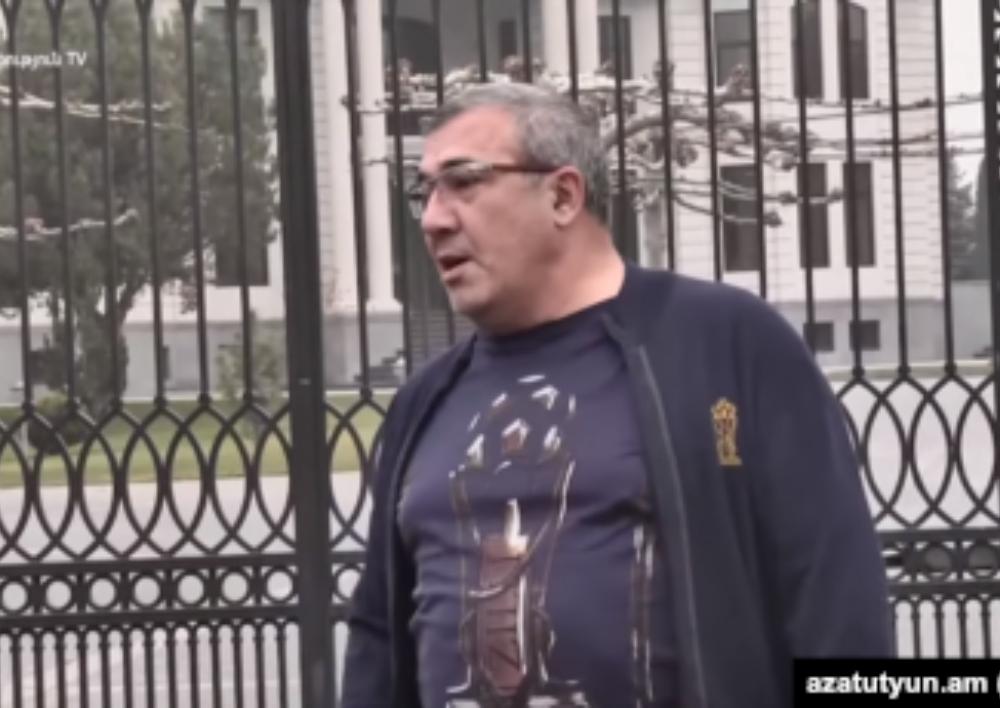 Ինձ չեն ձերբակալելու. Ռուբեն Հայրապետյան. Տեսանյութ