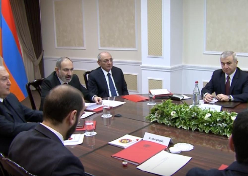 Տեղի է ունեցել ՀՀ և Արցախի  Անվտանգության խորհուրդների համատեղ նիստը. Տեսանյութ